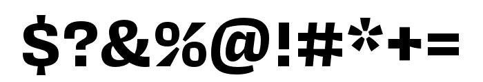 Covik Sans Bold Font OTHER CHARS