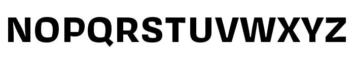 Covik Sans Bold Font UPPERCASE