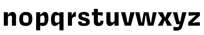 Covik Sans Bold Font LOWERCASE