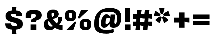 Covik Sans Mono Black Font OTHER CHARS
