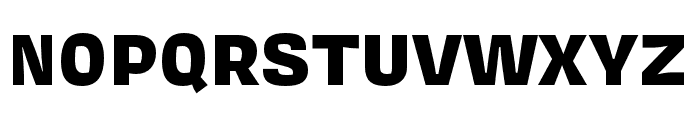 Covik Sans Mono Black Font UPPERCASE