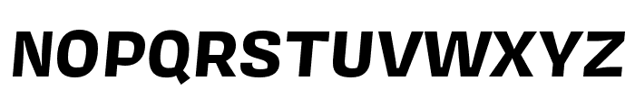 Covik Sans Mono Bold Italic Font UPPERCASE