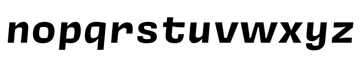 Covik Sans Mono Bold Italic Font LOWERCASE