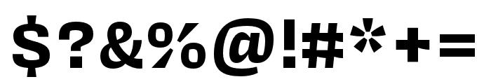 Covik Sans Mono Bold Font OTHER CHARS