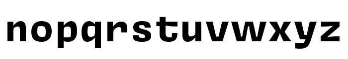 Covik Sans Mono Bold Font LOWERCASE