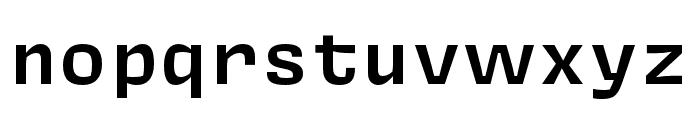 Covik Sans Mono Semibold Font LOWERCASE