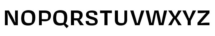 Covik Sans Semibold Font UPPERCASE