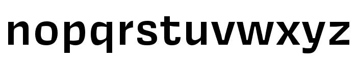 Covik Sans Semibold Font LOWERCASE