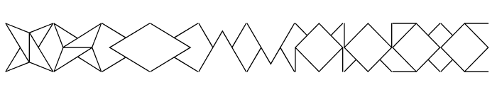Crackly Lines 20 Font OTHER CHARS