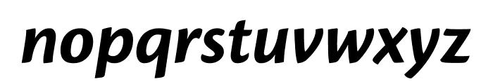 Cronos Pro Bold Subhead Italic Font LOWERCASE