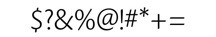 Cronos Pro Light Caption Font OTHER CHARS