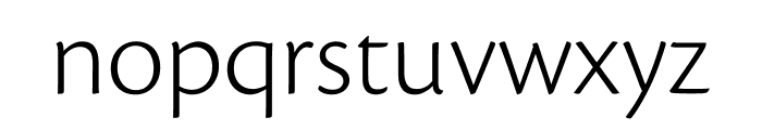 Cronos Pro Light Subhead Font LOWERCASE