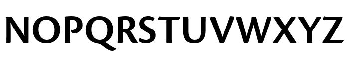 Cronos Pro Semibold Display Font UPPERCASE