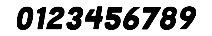 Cubano Sharp Italic Font OTHER CHARS