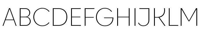 Cy Light Font UPPERCASE