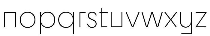 Cy Light Font LOWERCASE