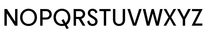 Cy SemiBold Font UPPERCASE