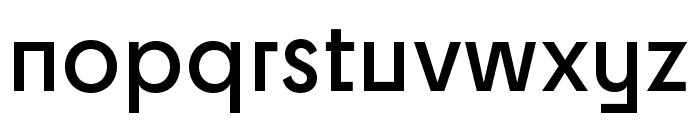 Cy SemiBold Font LOWERCASE