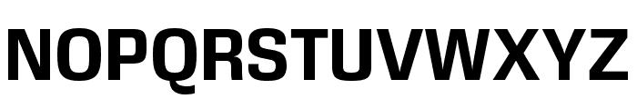 DDT Bold Font UPPERCASE