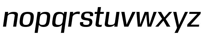 DDT Italic Font LOWERCASE
