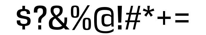 DDT Regular Font OTHER CHARS