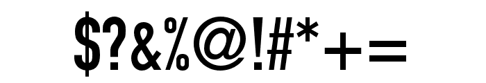 DIN 1451 LT Pro Engschrift Font OTHER CHARS