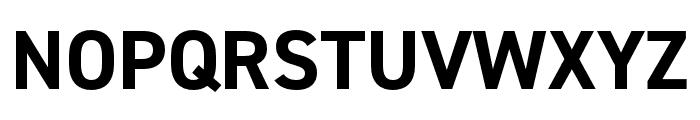 DIN 2014 Narrow Bold Font UPPERCASE