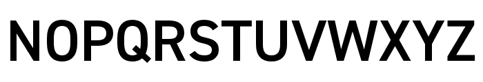 DIN 2014 Narrow Demi Font UPPERCASE