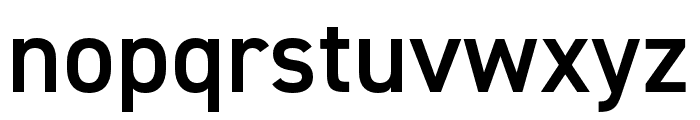 DIN 2014 Narrow Demi Font LOWERCASE