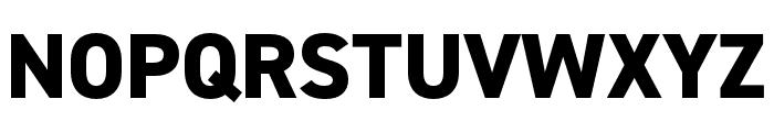 DIN 2014 Narrow Extra Bold Font UPPERCASE