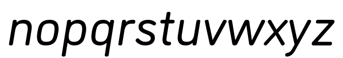 DINosaur Book Italic Font LOWERCASE