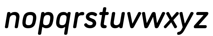 DINosaur Medium Italic Font LOWERCASE