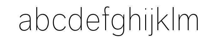 Dagny Pro Extlight Font LOWERCASE