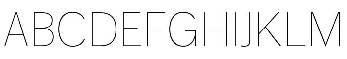 Dagny Pro Light Italic Font UPPERCASE