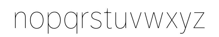 Dagny Pro Light Italic Font LOWERCASE
