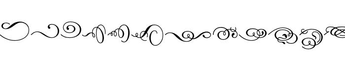 Dalliance OT Script Display Font LOWERCASE