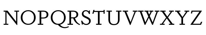 Dapifer Book Font UPPERCASE
