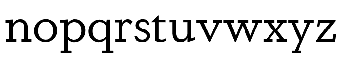 Dapifer Book Font LOWERCASE