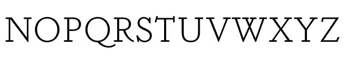 Dapifer Light Font UPPERCASE