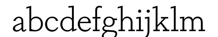 Dapifer Light Font LOWERCASE