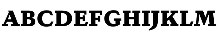 DapiferStencil Black Font UPPERCASE