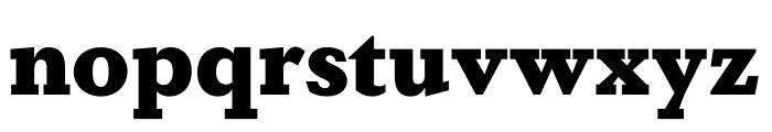 DapiferStencil Black Font LOWERCASE