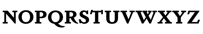 DapiferStencil Bold Font UPPERCASE