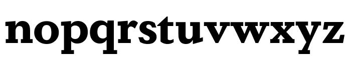 DapiferStencil Bold Font LOWERCASE