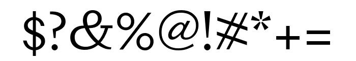 DapiferStencil Book Font OTHER CHARS