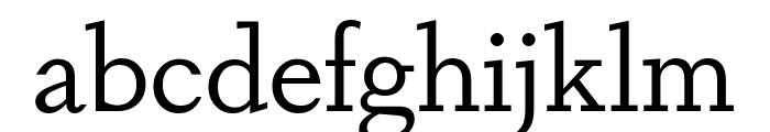 DapiferStencil Book Font LOWERCASE