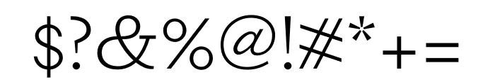 DapiferStencil Light Font OTHER CHARS