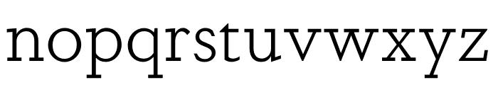 DapiferStencil Light Font LOWERCASE