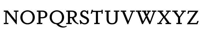 DapiferStencil Medium Font UPPERCASE