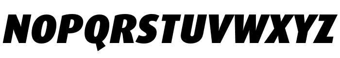 Dax Pro Cond Black Italic Font UPPERCASE